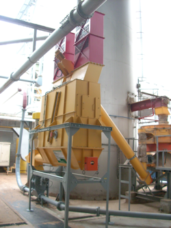 Dust dosing hopper PSB angular